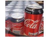 Coca cola geen suiker tray